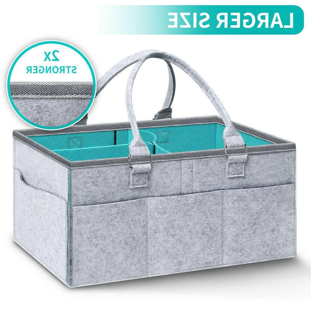 Baby Diaper Nursery Infant Bin Storage NEW