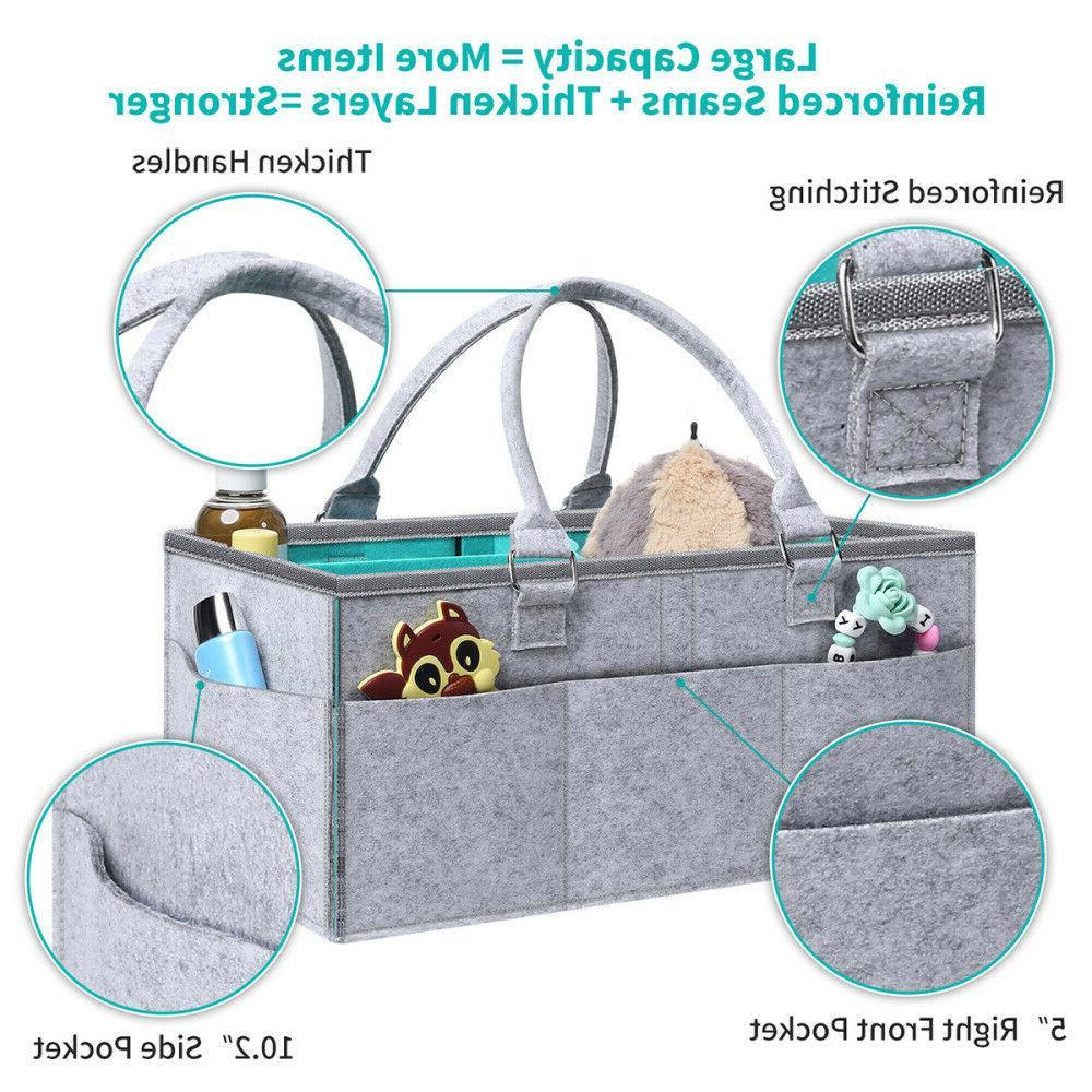 Baby Nursery Nappy Bin Storage NEW