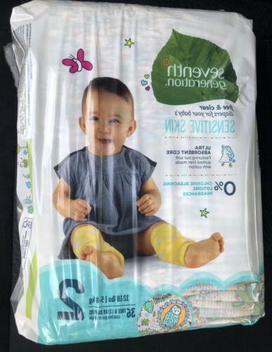 Seventh Generation Diapers #2 Design Skin 36ct