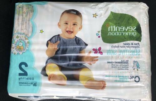 baby diapers 2 animal design sensitive skin