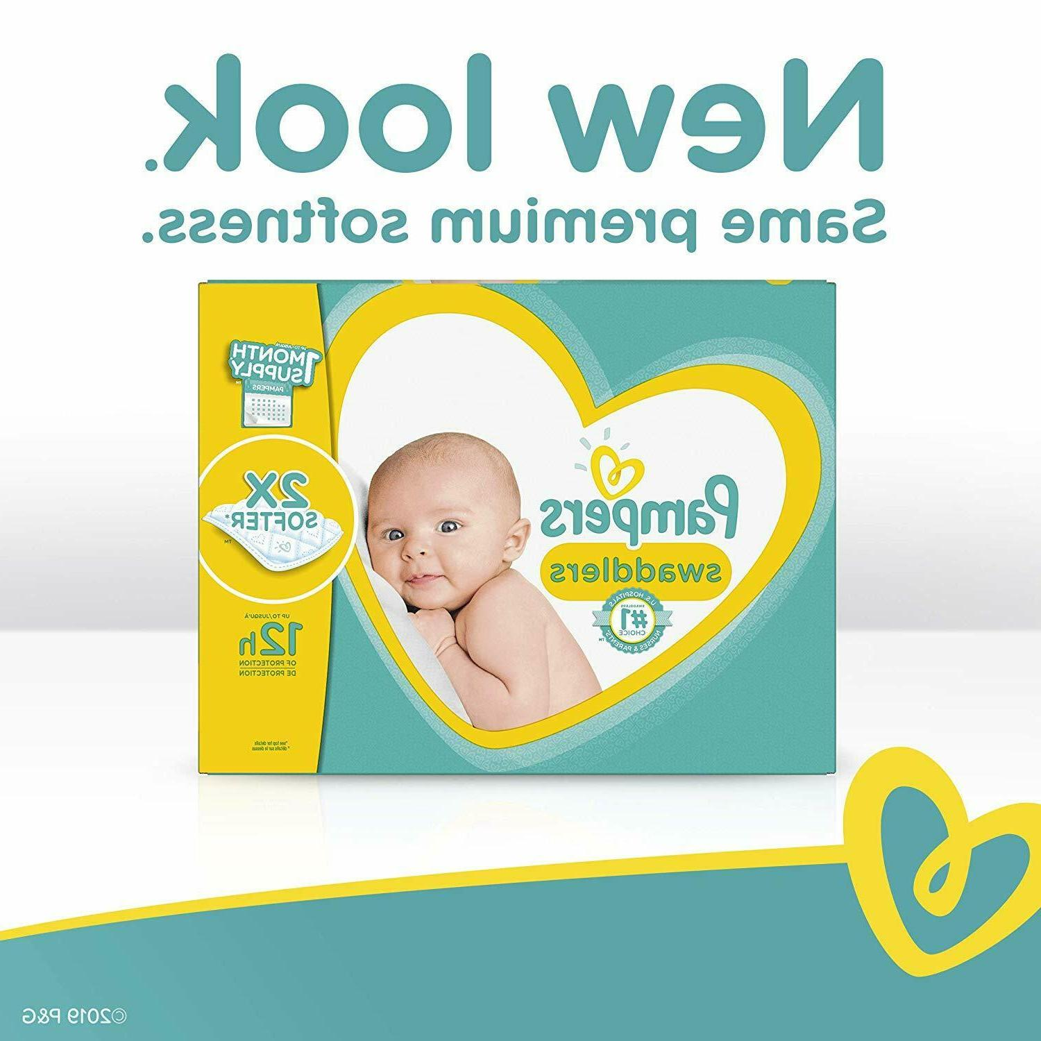 Pampers Diapers Size 4, 150 Count Swaddlers Disposable One