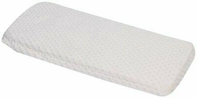 Baby Doll Bedding Minky Changing Table Cover, White