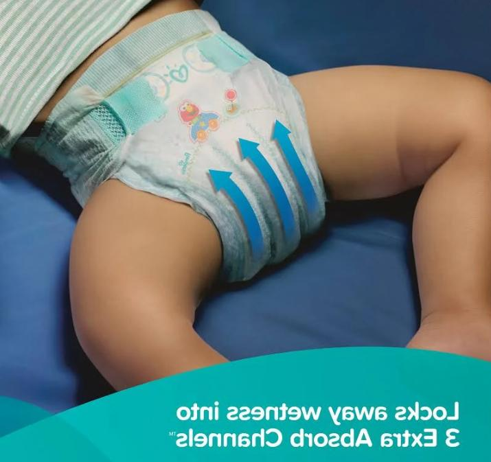 Pampers Size N, 3, NEW SEALED NO