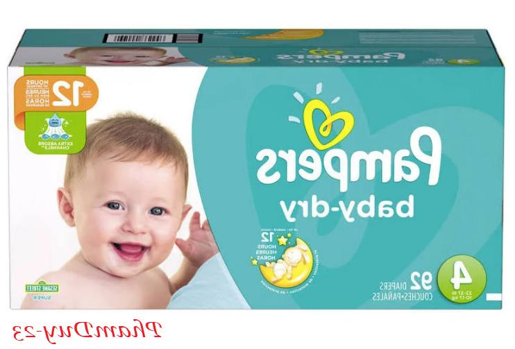 Pampers Dry Size 1, 2, 3, 6 NEW SEALED NO TAX