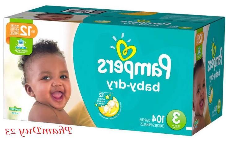 Pampers Dry Size 1, 2, 3, 5, NEW SEALED FREE NO