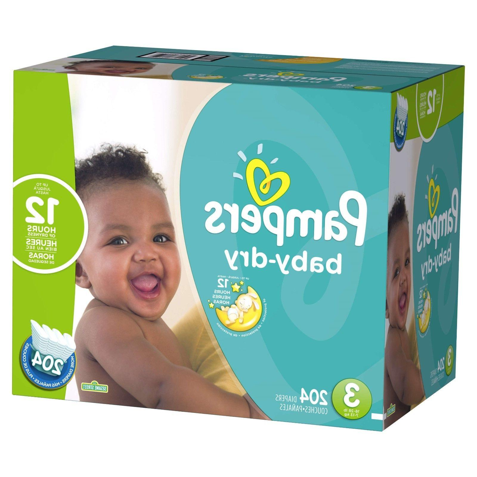 Pampers Baby Diapers Size 4, Free Free!