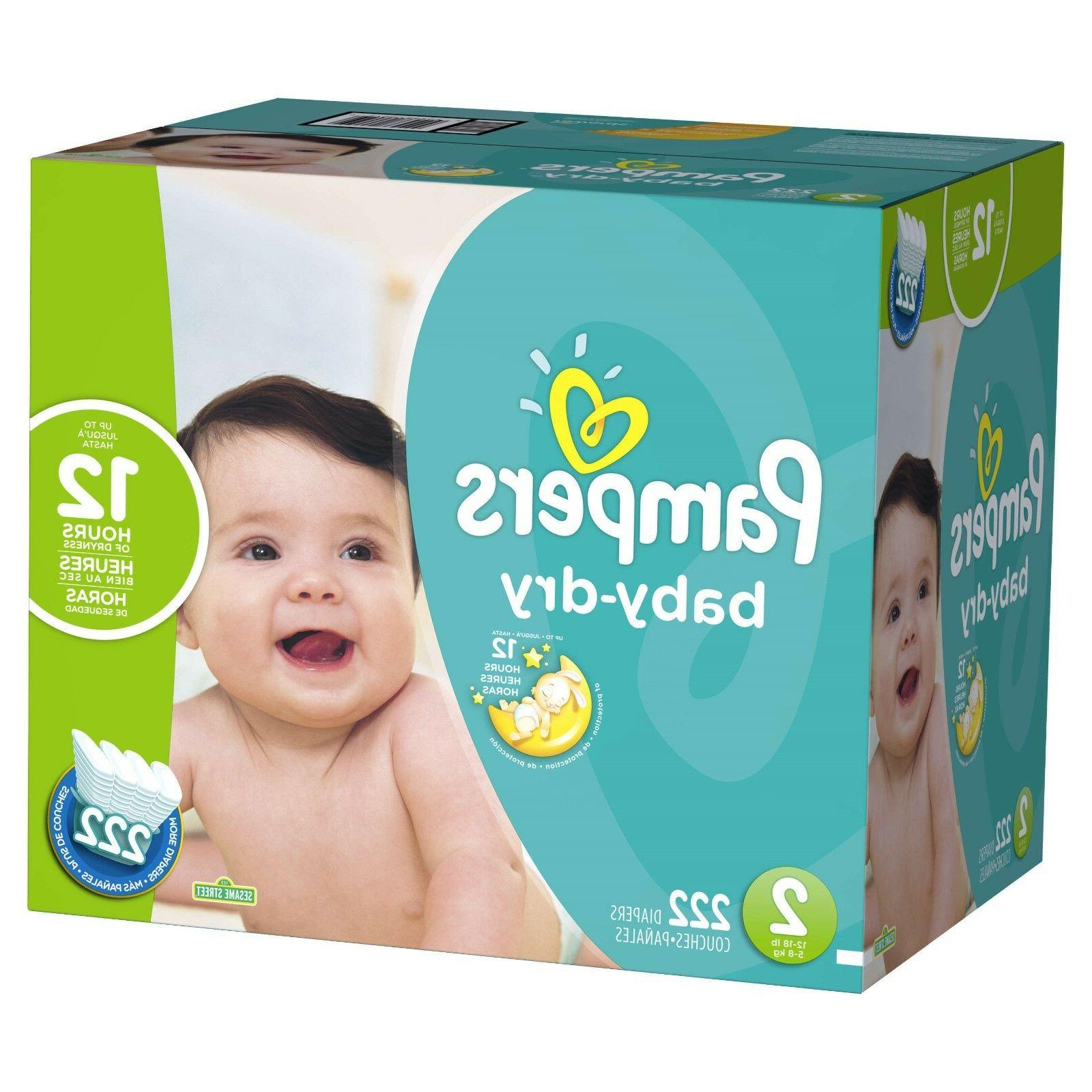 Pampers Dry Diapers Free Shipping! Tax Free!