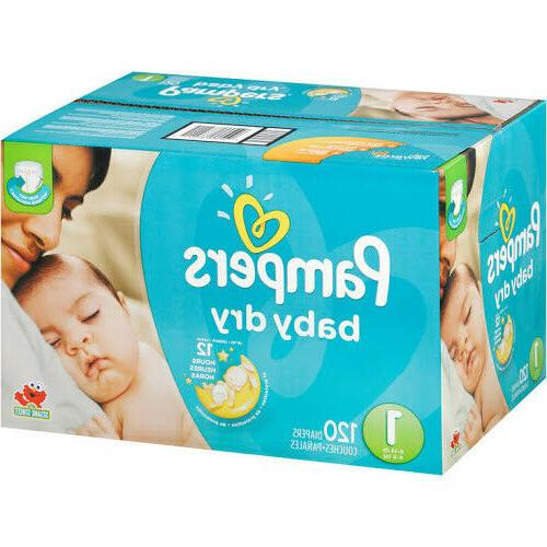 baby dry diapers size 1 8 14