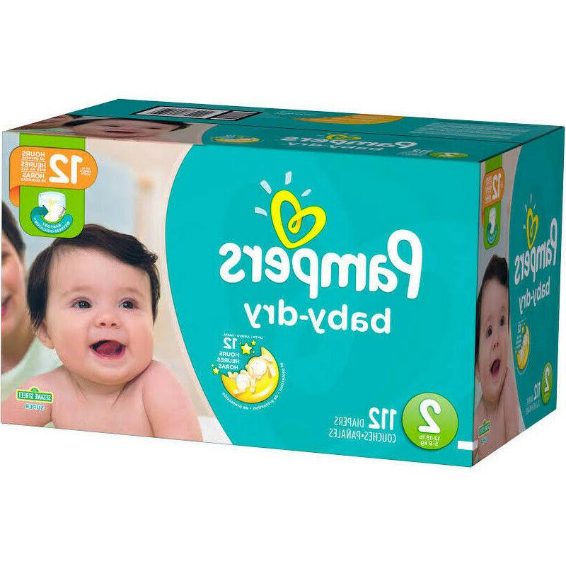 baby dry diapers size 2 112 pack