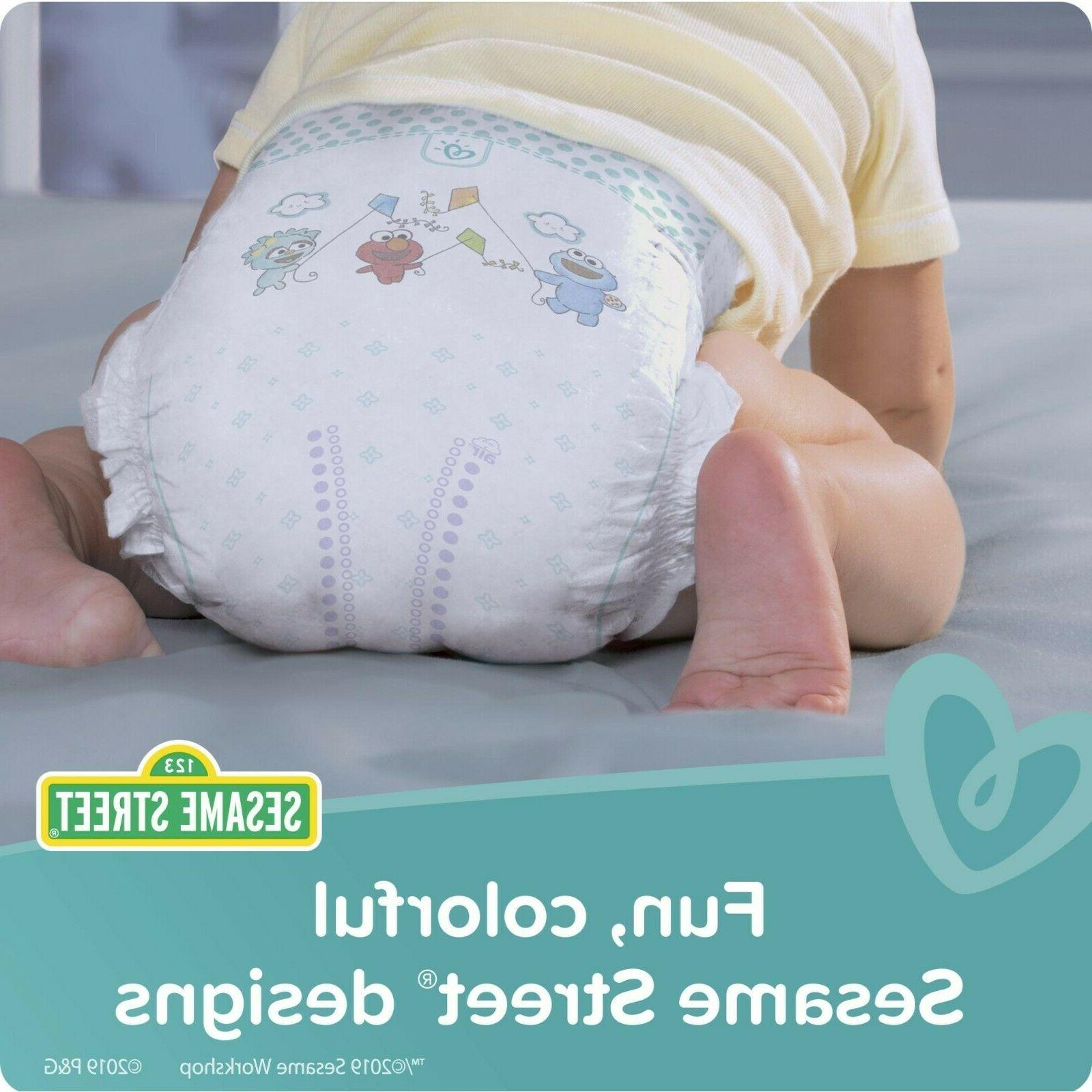 Pampers Extra Diapers, Size N, ct