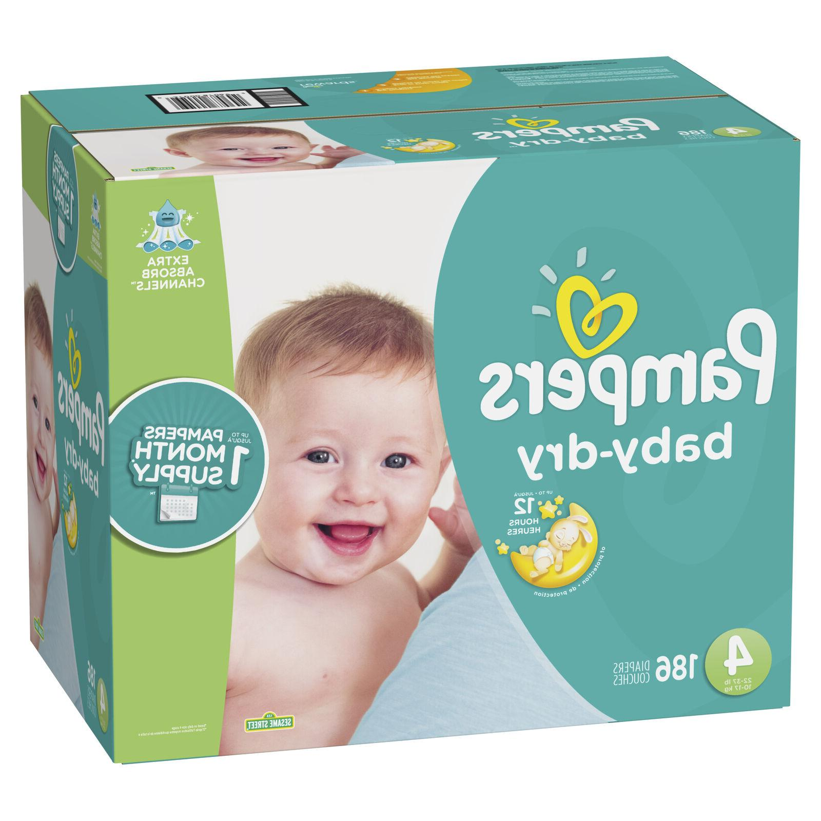 Pampers Baby-Dry Diapers 4 186