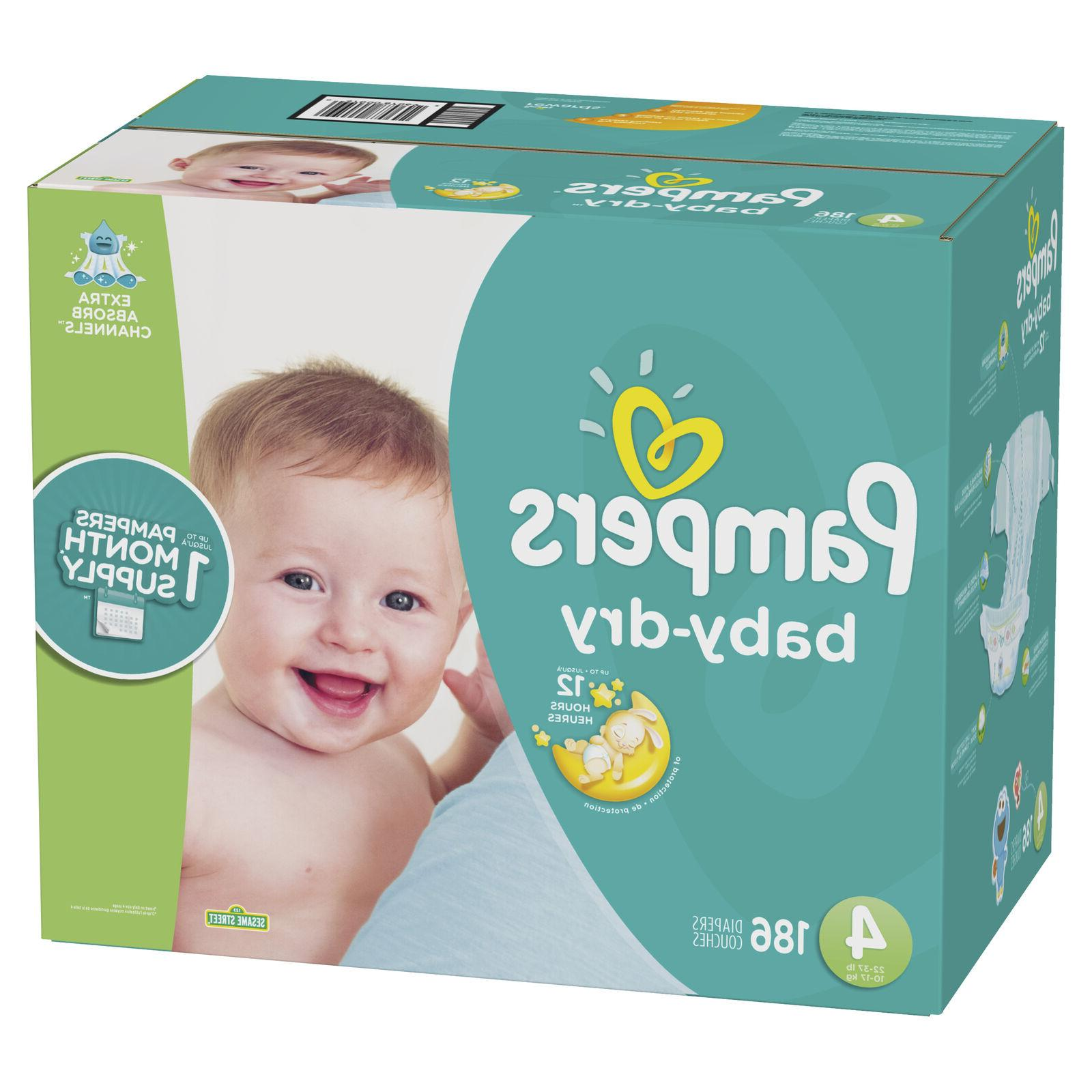 Pampers Diapers 4