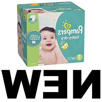 Pampers 234 Count, SUPPLY