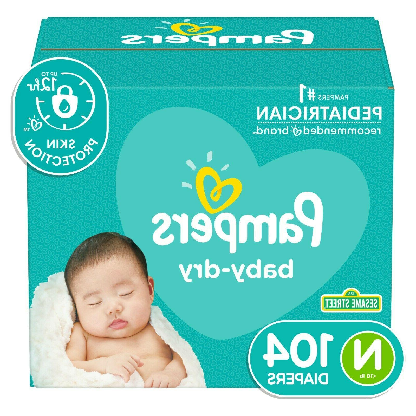 baby dry disposable diapers newborn 1 2