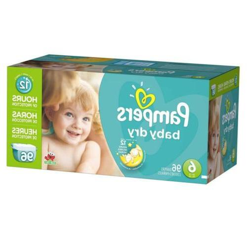 Pampers Diapers Size 6, Count, GIANT