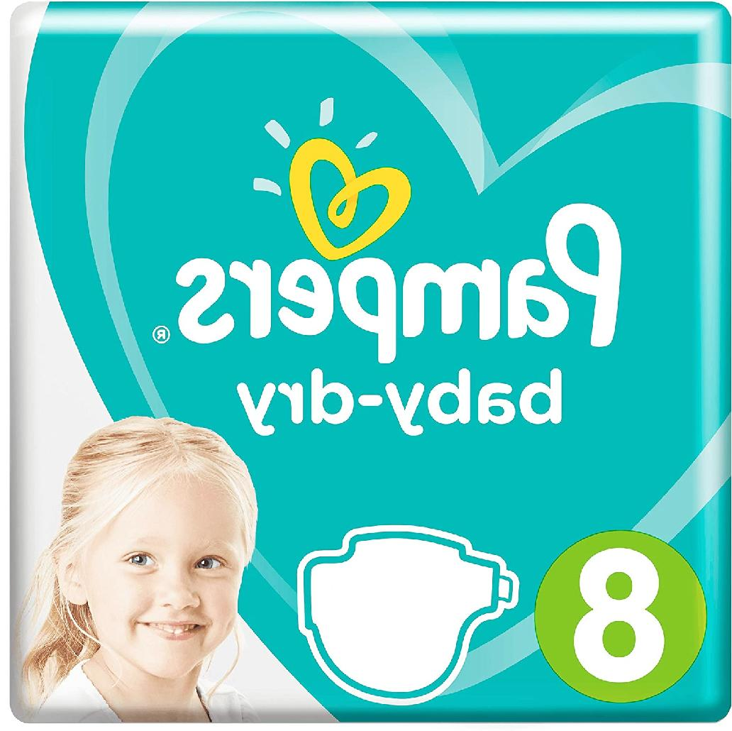 baby dry size 8 sample 5x diapers