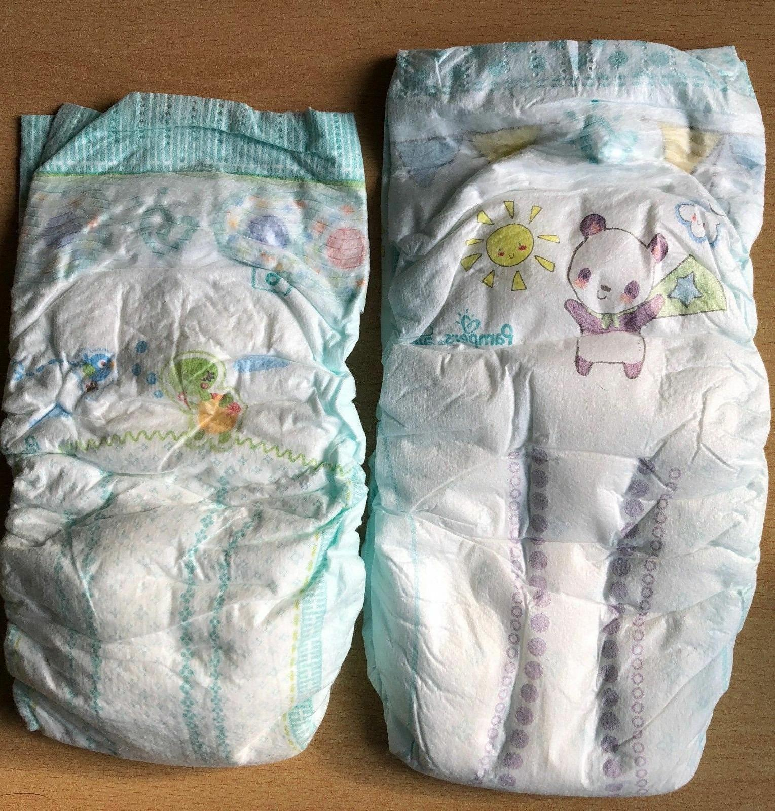 Pampers Baby Dry Size 8 Discrete Shipping