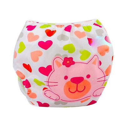 Baby Infant Cloth Kids Nappy Cover Adjustable Diapers