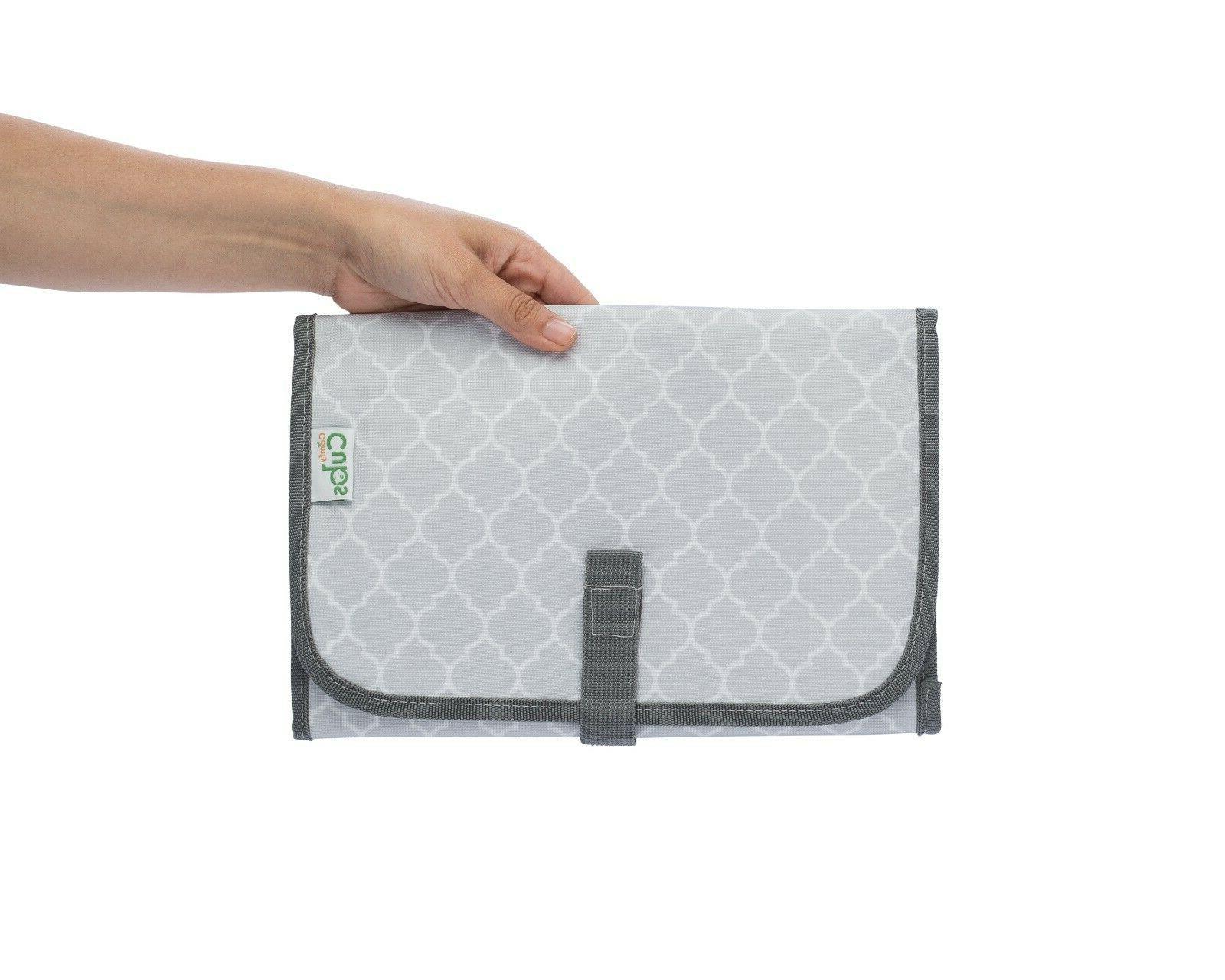 Baby Travel Mat Grey, Compact