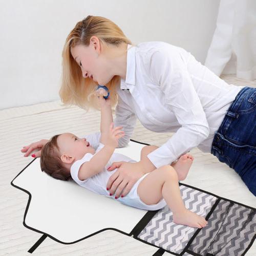 Baby Portable Diaper Changing Mat Diaper Pad