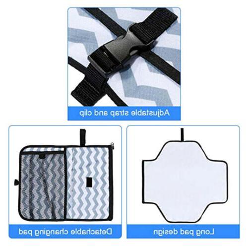 Baby Portable Diaper Changing Mat Travel Diaper US