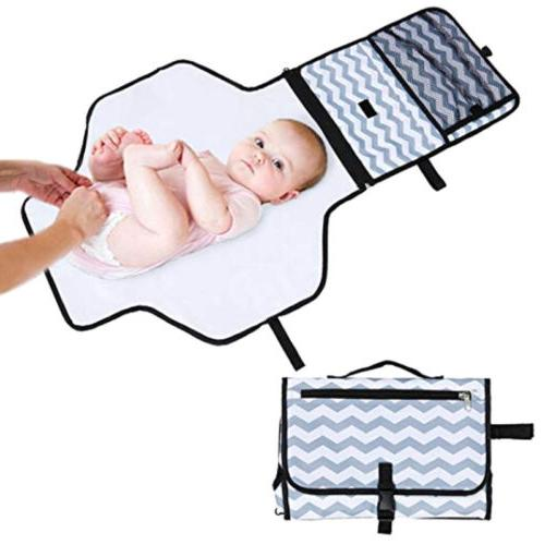 baby portable foldable diaper changing mat waterproof