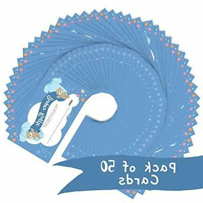 Baby Cards 2.25 3 inch 50-Pack