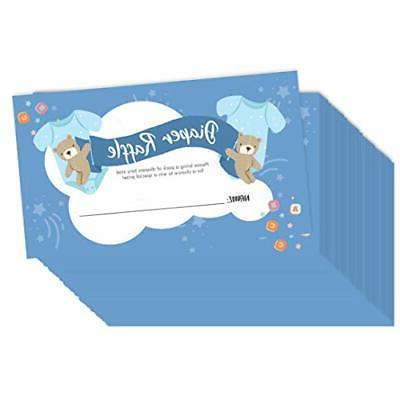 Baby Raffle Cards 2.25 inch 3 inch