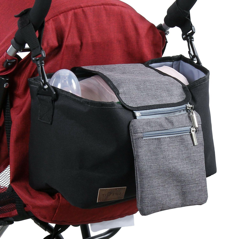baby stroller organizer storage diaper bag cup