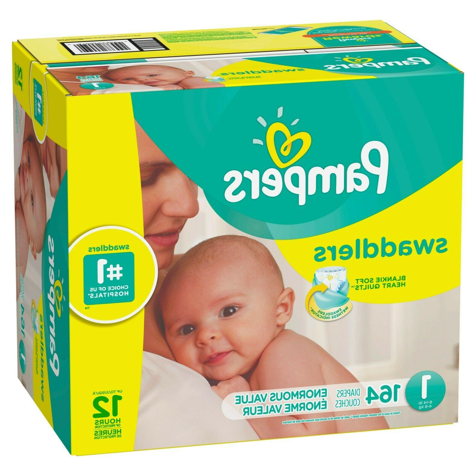 Pampers Newborn Diapers Size Count- New
