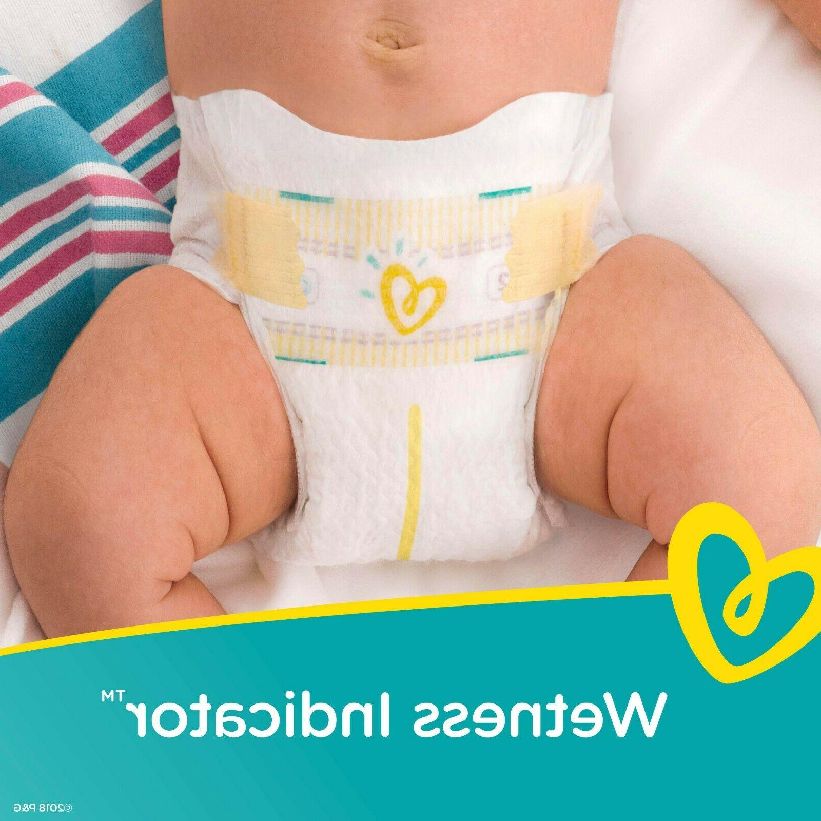 Pampers Swaddlers New Baby covers