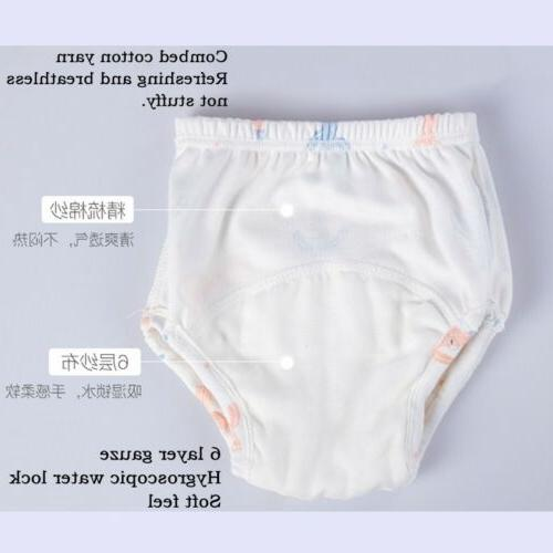 Baby Waterproof Training Infant Cotton Shorts