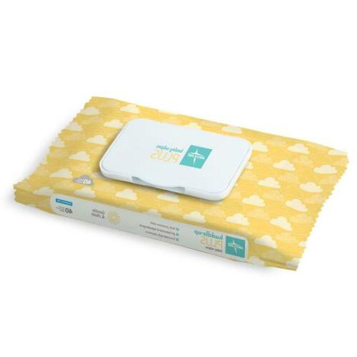baby wipes fragrance free 40 wipes package