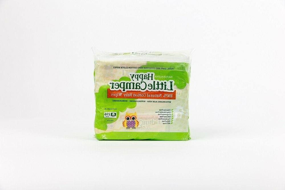 baby wipes natural all cotton with organic
