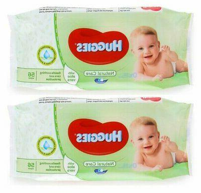 baby wipes natural care 56ct 2 pack