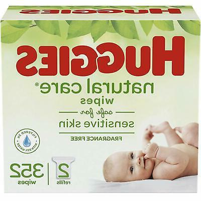 baby wipes natural care unscented sensitive 2