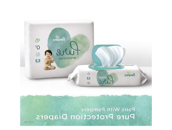 Baby Pampers 8 Packs 448 Unscented