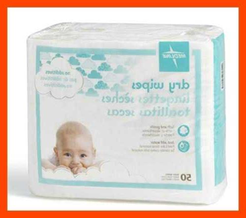 Medline Babysoft Sensitive Skin Cloths Case Of