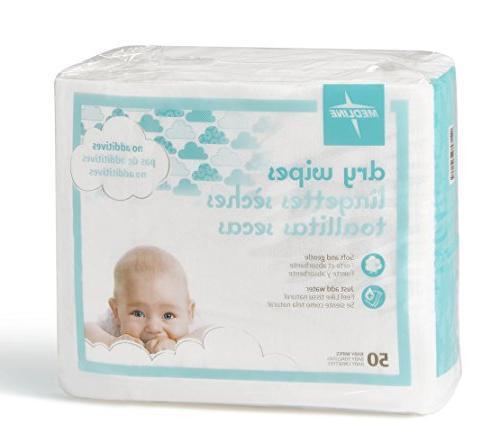 Medline Babysoft For Skin Disposable Dry Cloths,