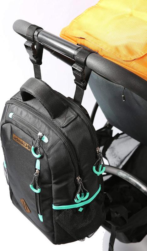 Backpack Diaper Black Carson Care