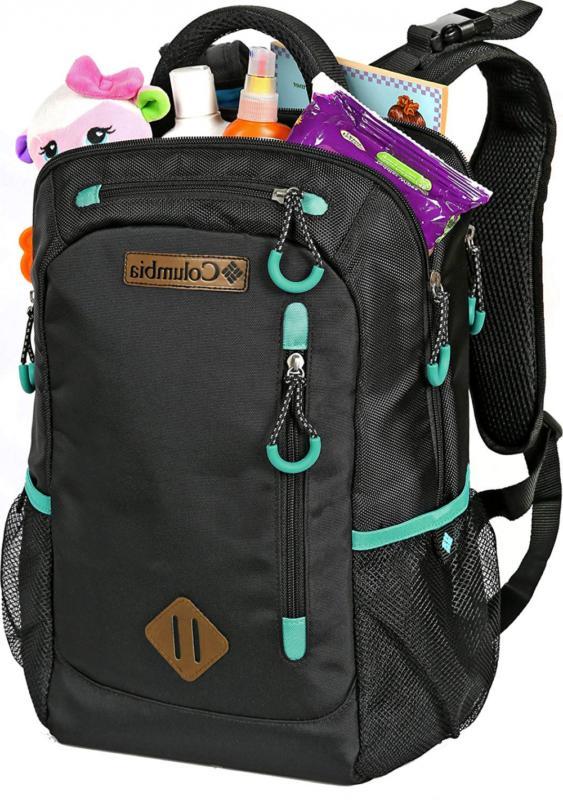 Backpack Diaper Bag Black Carson Care