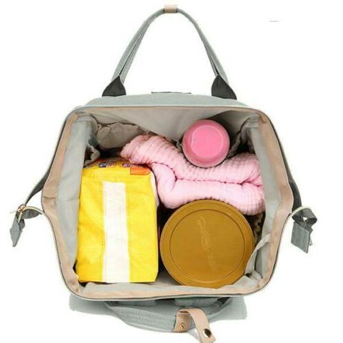 Backpack Bag Diaper Nappy Grey