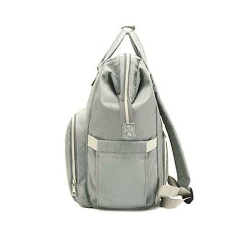 Backpack Multi-Function Bag Diaper Nappy Grey Mummy