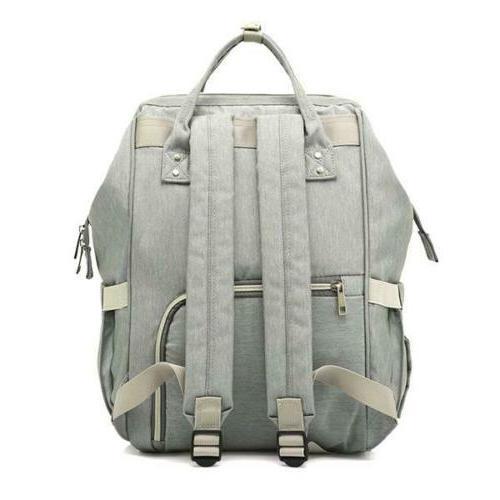 Backpack Diaper Dot Grey
