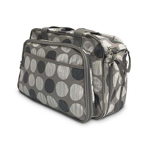EasyGoProducts 1 Travel Bag Bassinet Diaper Bag, Crib -Dot