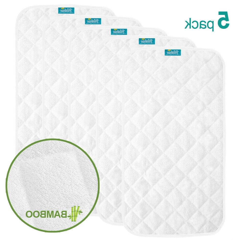 bamboo terry changing pad liner