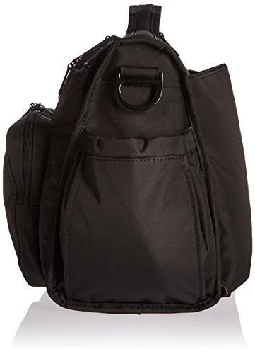 Infant Onyx Diaper Bag - Black