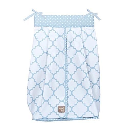 blue sky diaper stacker