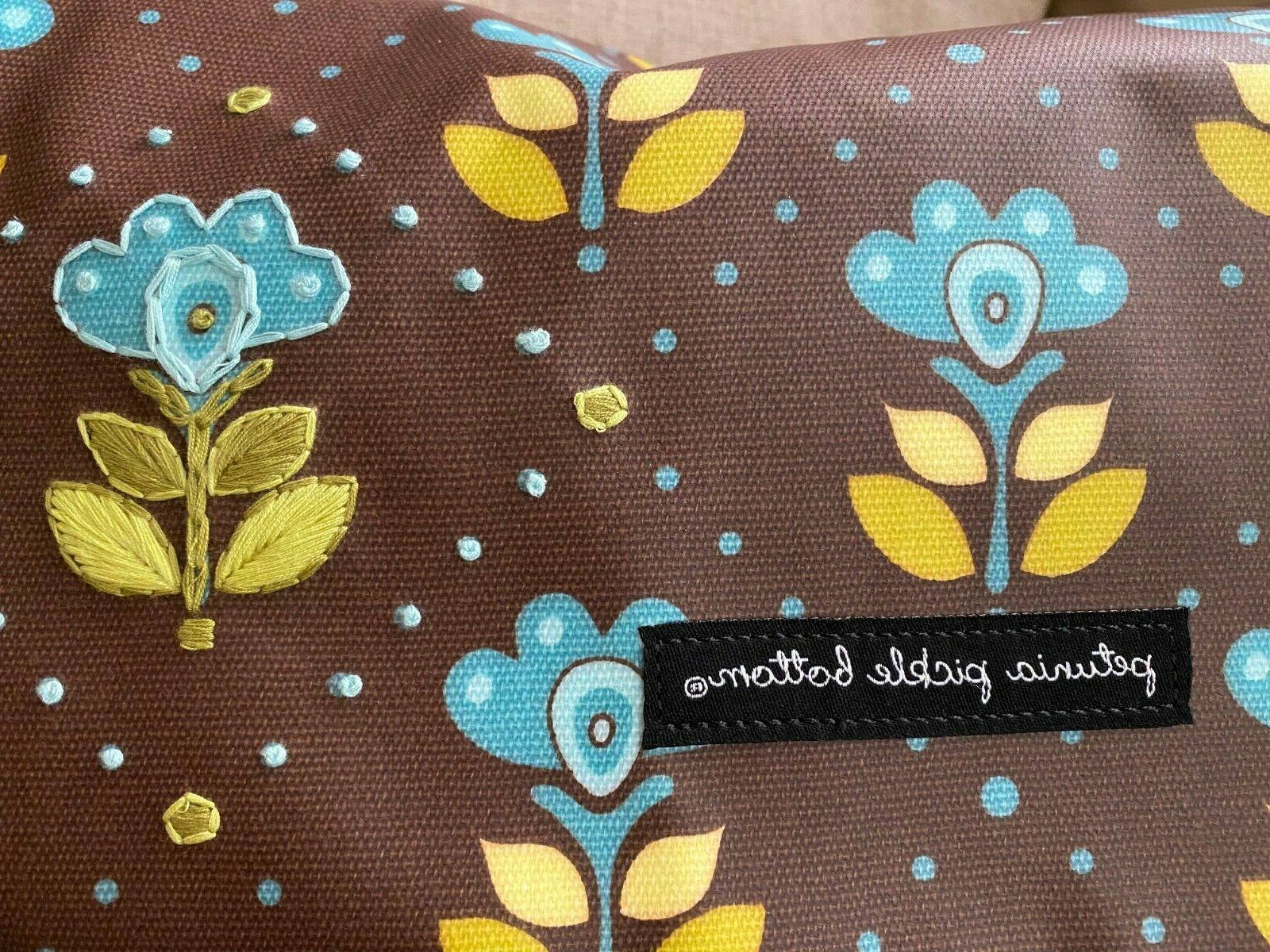 Petunia backpack diaper bag, NWT glazed