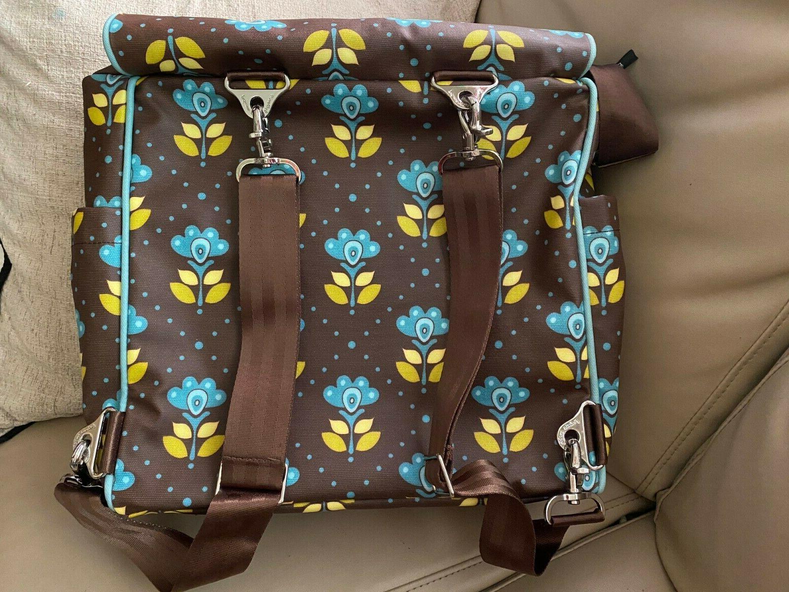 Petunia Pickle Bottom backpack diaper bag, NWT glazed